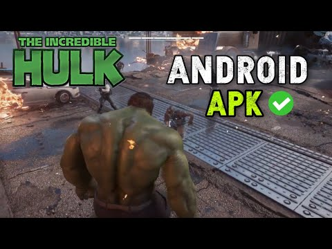 [1.2GB] Download Incredible Hulk - The Ultimate Destruction Game Android APK