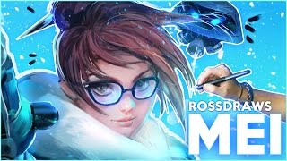 Ross Draws MEI (Overwatch)