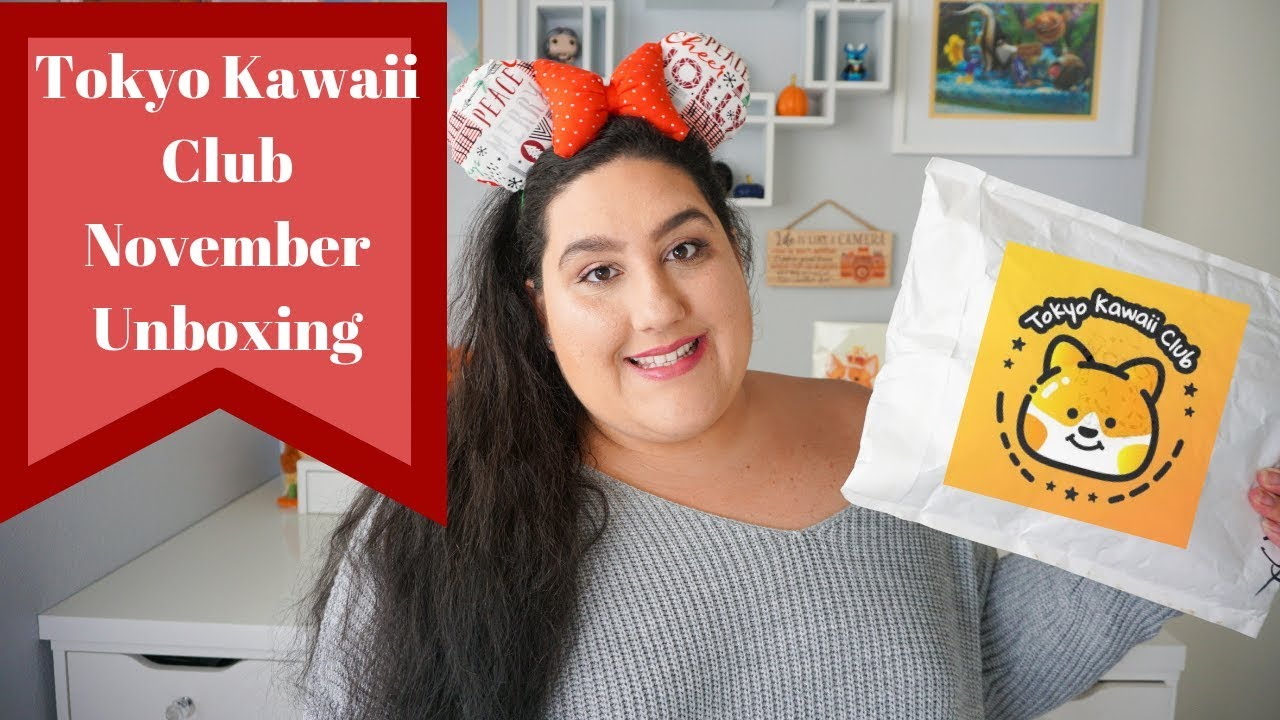 Disney Tokyo Kawaii Club Unboxing and Review | November 2018 by Enchanted Rita