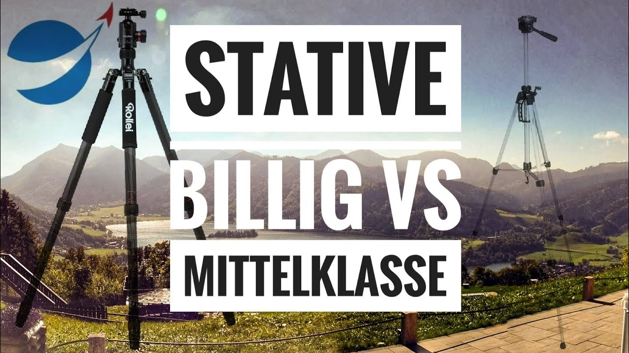 Amazon Stativ Stative Billig Vs Mittelklasse Amazon Basic Gegen Rollei C6i Deutsch