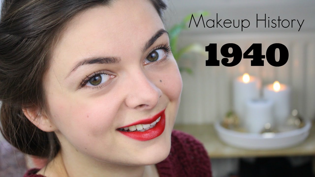 Makeup History: 1940's - YouTube