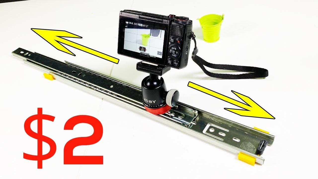 Build 2 Diy Camera Slider Cheap