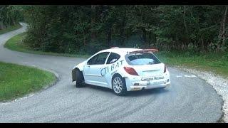 Vid�o Essais pr� Rallye du Mont-Blanc Romain Martel 207 S2000