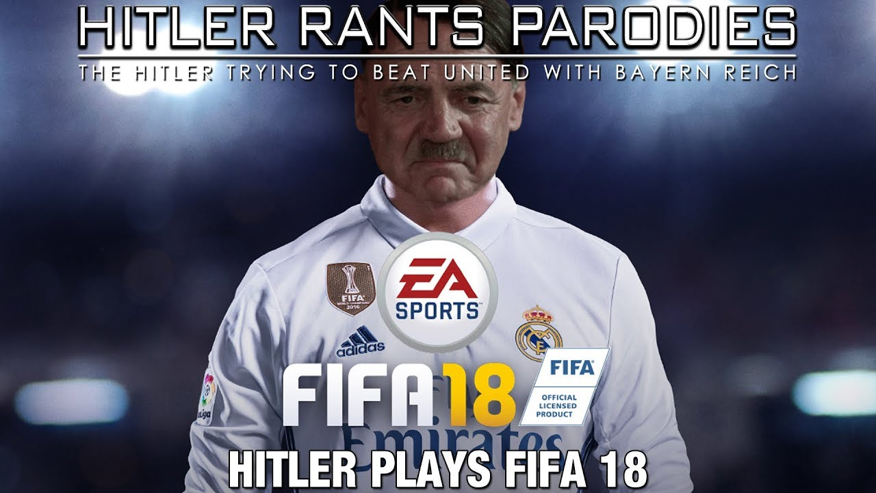 Hitler plays FIFA 18