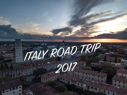 Italy Road Trip 2017 | Italy By Car | Drone | Milan, Vicenza, Venice, Florence, Rome +