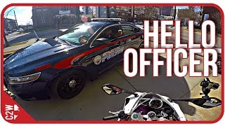COOL COP confrontation!! | Rider-M