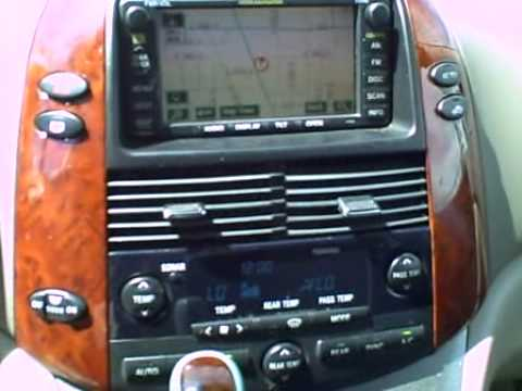 2005 toyota sienna dvd player