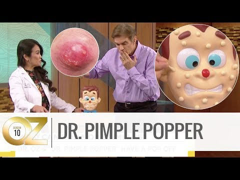 Who Can Pop the Most Pimples: Dr. Oz or Dr. Pimple Popper?