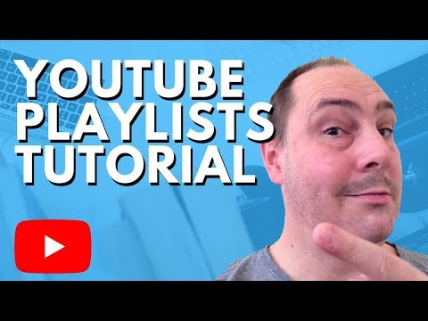 How to Create a Youtube Playlist 2018 - iOS and Browser
