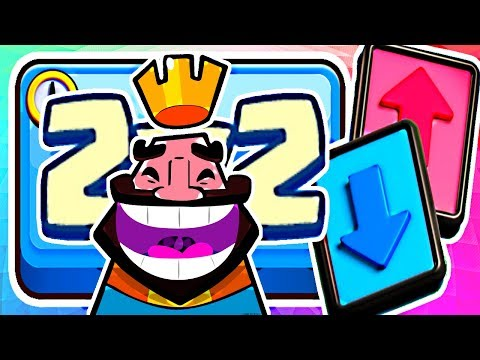 BUILD AROUND & CARRY YOUR ALLY IN 2v2! - Clash Royale