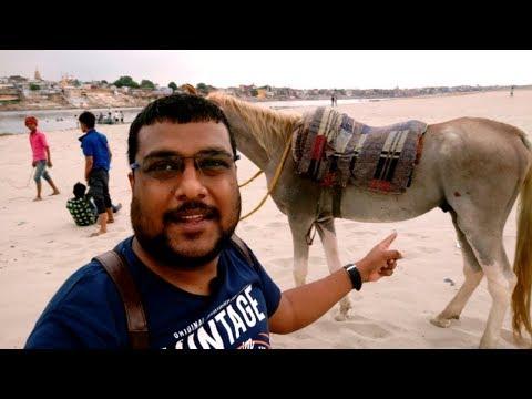 Horse Riding Assi Ghat Varanasi Uttar Pradesh India ! Travel VLOG- 154