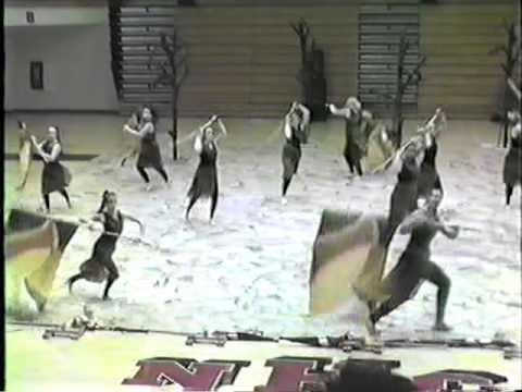 Angola High School Winter Guard 2011 Branching Out