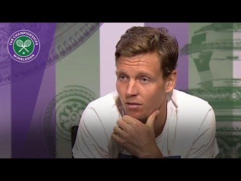 Tomas Berdych Wimbledon 2017 quarter-final press conference