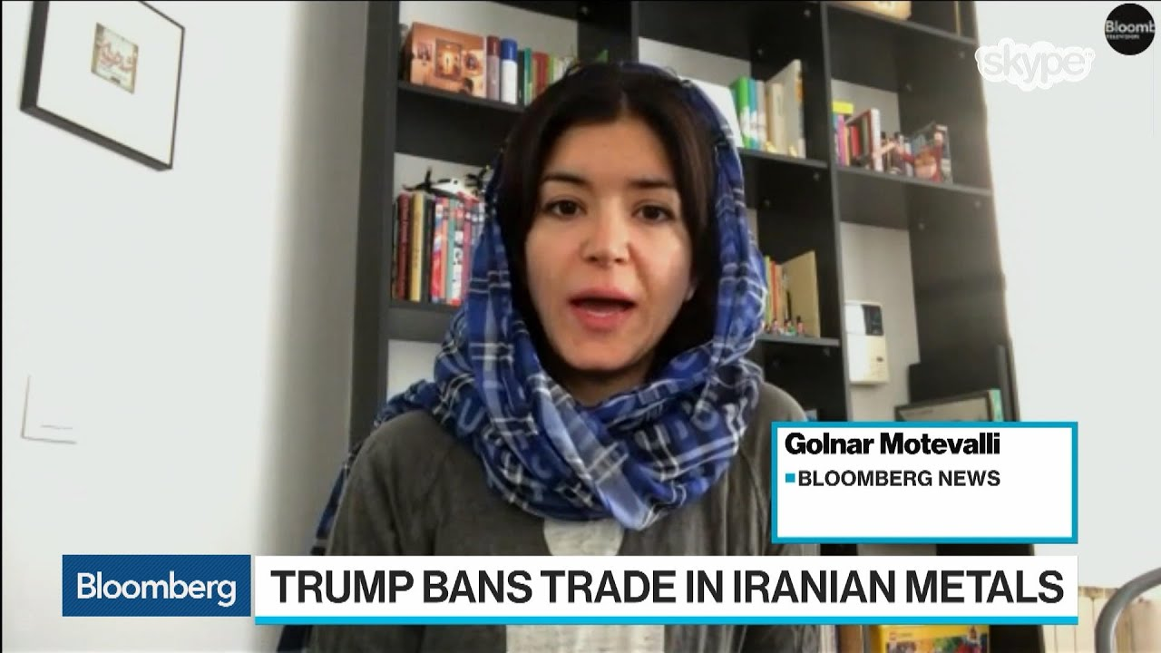 Trump Bans Trade in Iranian Metals, Ratcheting Up Tensions