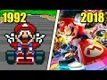Evolution of Mario Kart Games (1992 - 2018)