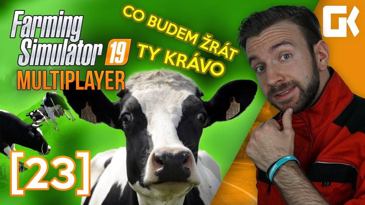 CO BUDEME ŽRÁT, TY KRÁVO | Farming Simulator 19 Multiplayer #23