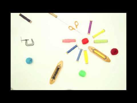 Textile Design Stop Motion Animation
