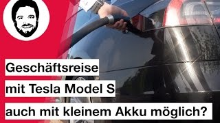 Tesla Model S 75 D- reicht die Akkugröße aus? Roadtrip Bremen - Porta Westfalica