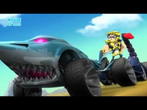 Team Hot Wheels  The Skills To Thrill  Nitrobot