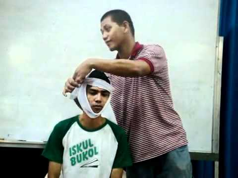 Pnrc First Aid Training Bandaging Part