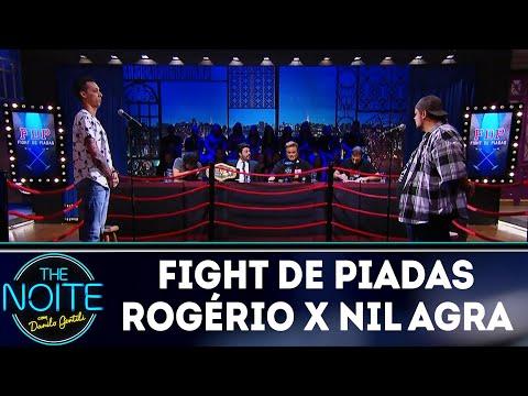 Fight de piadas Rogério Morgado x Nil Agra   The Noite (19/03/18)
