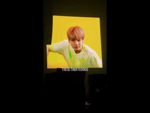 180916 Hopekook VCR (right Screen) @ BTS 방탄소년단 Love Yourself Tour In Fort Worth Fancam 직캠