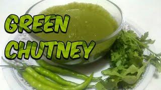 GREEN CHUTNEY  हरे धनिये की चटपटी चटनी