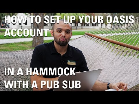 How To Use Your OASIS Account In A Hammock With A Pub Sub