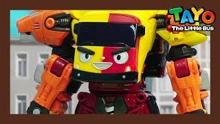 Video Tayo Toys the world's fastest robot! Be careful! l Tayo Rangers Special #3 l Tayo The Little Bus download MP3, 3GP, MP4, WEBM, AVI, FLV Maret 2018