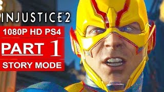 INJUSTICE 2 Story Mode Gameplay Walkthrough Part 1 [1080p HD PS4] - No Commentary