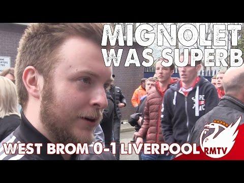 West Brom v Liverpool 0-1 | Mignolet Was Superb!  | #LFC Fan Cam