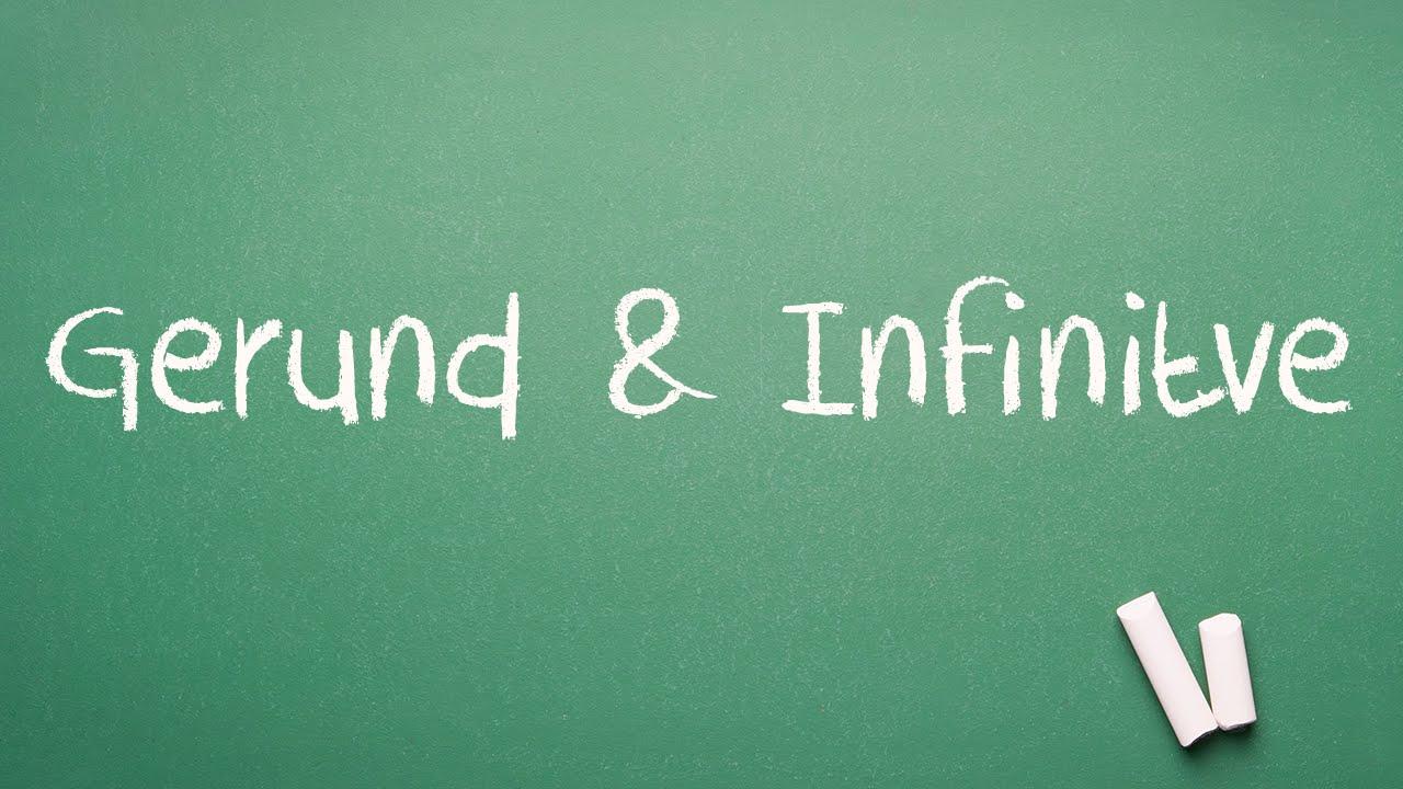 hight resolution of Gerund \u0026 Infinitive │ English Grammar Lesson - YouTube