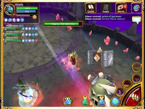 Arcane Legends - Planar Tombs (Level 3) AWESOME LOOT!!!