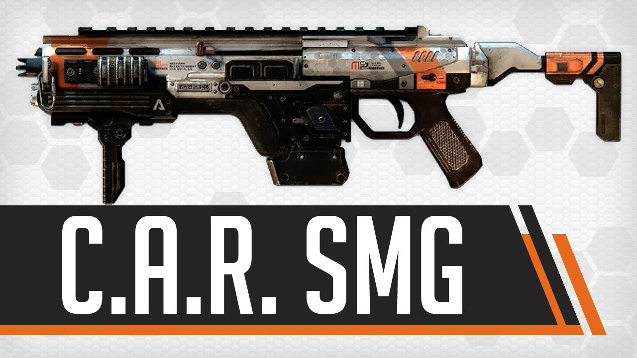 C.A.R. SMG : Titanfall Weapon Guide & Gun Review - YouTube