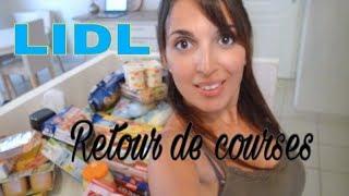 * RETOUR DE COURSES // LIDL *