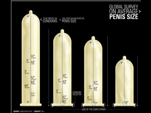 Sizes of dicks