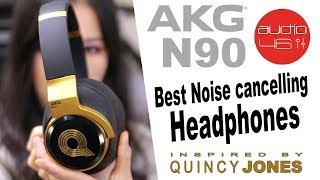 AKG N90Q Noise Cancelling Headphones Review