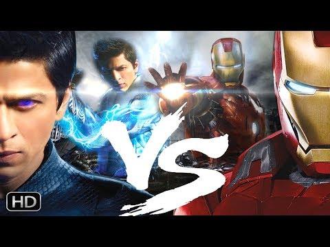 Iron Man-5 VS Ra-One 2 Trailer Fanmade...