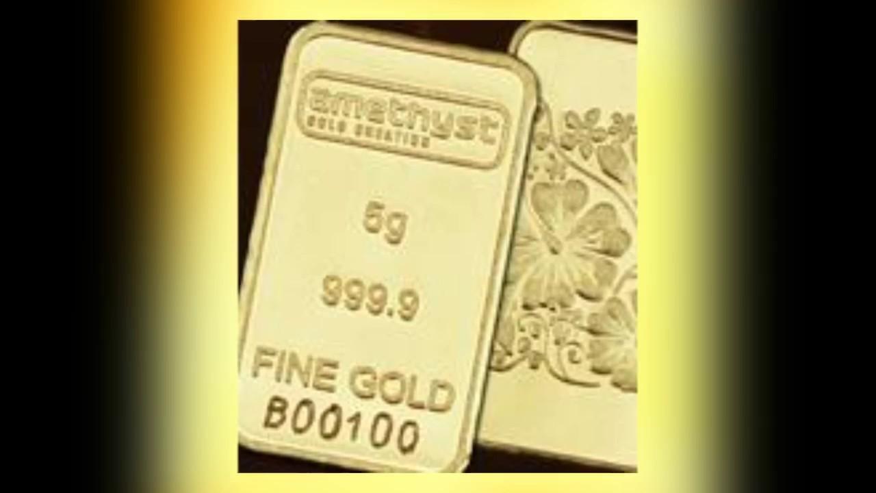 Gold Bar 5 Gram Emas 9999 24k Youtube