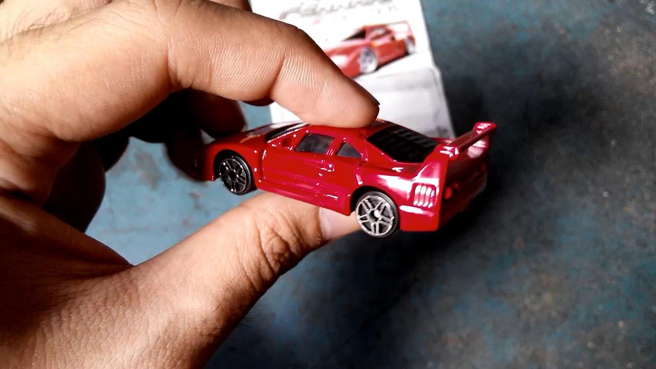 Ferrari Race /& Play Bburago Auto Modell 1:64 Ferrari F40 Competizione