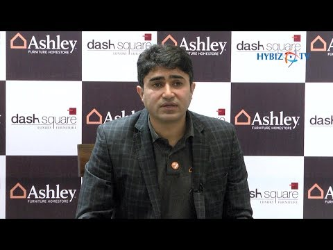 Amruth Sampige Managing Partner | Dash Square Launches Ashley Furniture Homestore In India