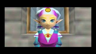 The Legend of Zelda: Ocarina of time - Entrando no castelo de Hyrule e falando com a Zelda - part 2