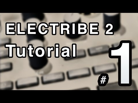 Korg Electribe 2 Tutorial Part 1 of 2