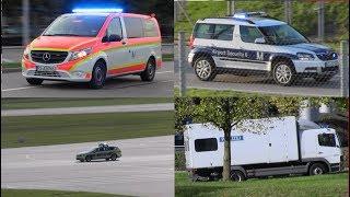 Einsatzfahrten Flughafen München, von Entschärfern und Airport Security, Edelweiß und Rettern