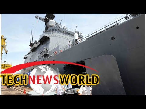Chinese navy ship reportedly spotted with a deadly electromagnetic railgun – see images