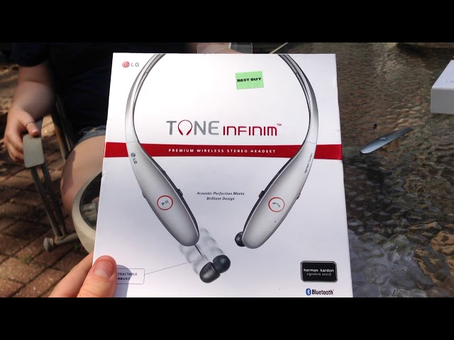LG Tone Infinim HBS-900 Bluetooth Headset Repair & Review