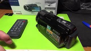 sony HDR-CX560E видеокамера обзор