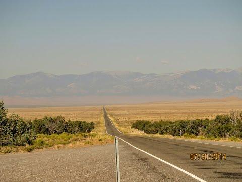 Western US Road Trip - The Loneliest Road in America