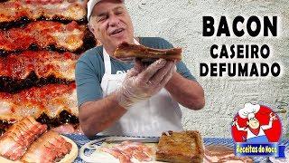 BACON DEFUMADO CASEIRO simples e fácil de fazer
