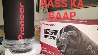 Pioneer TS-WX300TA Bass tube unboxing(Home setup)